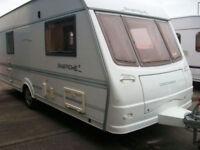 Coachman pastiche 540/4 fixed bed
