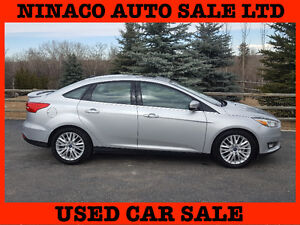 2015 Ford Focus TITANIUM  it  has only 3.500km