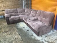 Harveys Holden corner reclining sofa brand new