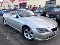 2006 06 BMW 6 SERIES 3.0 630I 2D AUTO 255 BHP