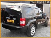 2010 (10) Jeep Cherokee 2.8 TD 4X4 Auto Limited