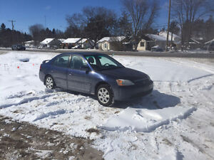 2003 HONDA CIVIC LX  4 DOOR PARTING OUT