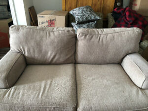 Barely used couch.  Like NEW!  Moving Sale!!