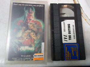 Horror & Other VHS For Sale, List Inside, Some Rare Movies!