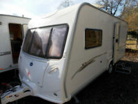Bailey Senator Vermont 2006 2 Berth End Washroom Touring Caravan