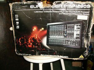 BEHRINGER EUROPOWER PMP1280S  POWERED BOARD