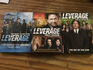 Complete LEVERAGE dvd collection