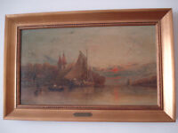 Original 19th century painting by G.G. Fryer