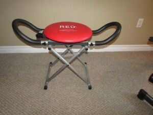 EXERCISE SEAT SWIVEL RED FITNESS XL CHAIR (reduced)