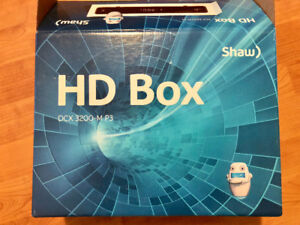 Shaw HD Box DCX 3200 - MP3 model for sale,