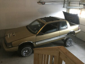 1987 Pontiac Grand Am 2.5 Coupe (2 door) LOWRIDER