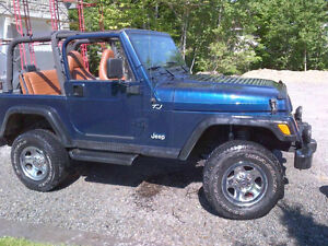 2002 Jeep TJ Apex edition Other