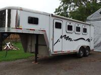 Exiss Aluminium 300 Event 3 Horse Slant