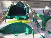 TP swing set baby seat quadpod attachment