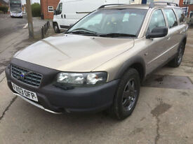 2003 Volvo XC70 2.4 auto diesel D5 SE cross country 88,000 miles full history.