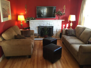 Fully furnished 3 bedroom house for rent January 1, 2018