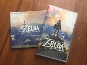 Brand New The Legend of Zelda Breath of the Wild w/ Soundtrack