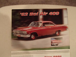 New 2001 MEMORABLE MUSCLE CARS 12 Month CALENDAR. Issued by APC. Sarnia Sarnia Area image 7