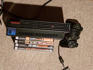Ps2 with 4 games!