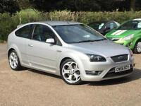 2006 Ford Focus 2.5 ST-3 225 SIV ST3 Silver 3 Door only 42,630 Miles SUPERB!!!!!