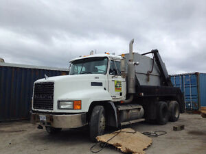 Mack Lugger truck and containers for sale
