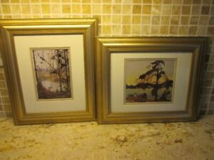 Tom Thomson Two Framed Prints – The Jack Pine and Northern River