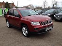 2012 62 JEEP COMPASS 2.4 LIMITED 5D AUTO 168 BHP