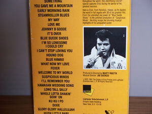 """RARE"" FIND ELVIS LIVE CONCERT ALOHA FROM HAWAII (VHS) Kawartha Lakes Peterborough Area image 3"