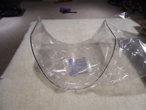 "Replacement Face Shield Windows 9"" x 14.5"" x 0.08"" New Lot of 19"