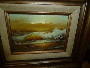 """Landscapes - Framed 10 x 20"""" Paintings Comox / Courtenay / Cumberland Comox Valley Area image 4"""