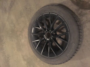 205 50 R17 Winter Tires and Rims