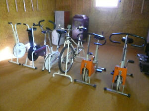 Vintage exercise equipment
