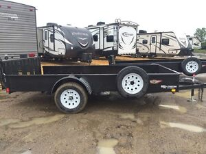 2017 HH 8X12' FLATBED SS UTILITY