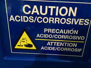 Armoire pour entreposage acide & produit corrosif West Island Greater Montréal image 5