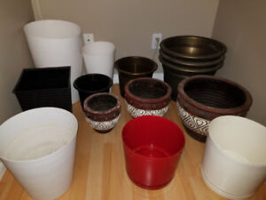 Assorted Planters and Pots