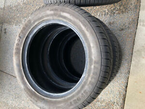 235/55/17 Goodyear Eagle Sport All-season tires (4 tires).