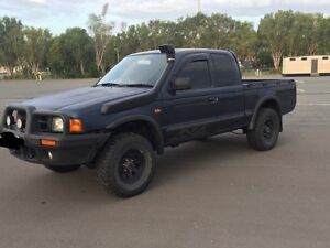 1999 Ford Courier Turbo diesel 4x4 Bundall Gold Coast City Preview
