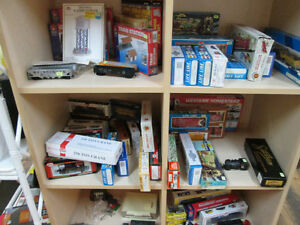 HO Trains and Accessories For Sale at Nearly New Port Hope!