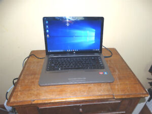 "HP G62 15.6"" Laptop AMD Dual Core 2.1GHz 250GB 4GB WIN 10 HDMI"