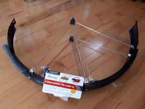 Bike fenders: Keep your butt & face mud-free in the rain!