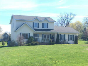 Custom Built home sitting on 1 Acre lot in Clarence Rockland