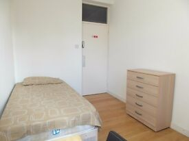 Short let single room available i=now in Homerton station. £125pw all inc