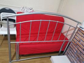 standard double bedroom headboard