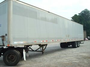 Dry Box trailers for sale
