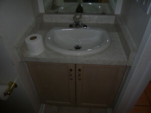 Used 30 Inch Vanity in Good Condition