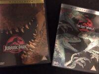 Jurassic park DVD's