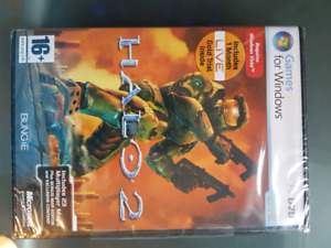 Unopened Halo 2 PC