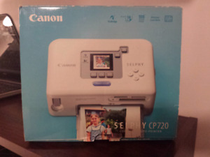 Cannon Compact Photo Printer Selphy CP720
