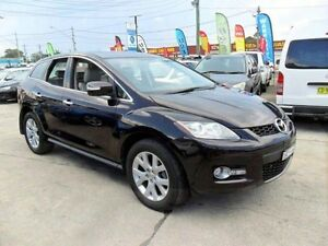 2007 MAZDA CX-7 LUXURY AUTOMATIC PURPLE 2.3L TURBO 4x4 5D WAGON Lansvale Liverpool Area Preview