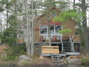 Beautiful 2 acre Island with Winterized Cottage in NS, turn key